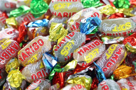 Haribo Soft Jelly Sweets Editorial Photo. Image Of Heap