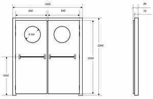 portes isophoniques iso dpo porte acoustique With dimension d une porte d entrée