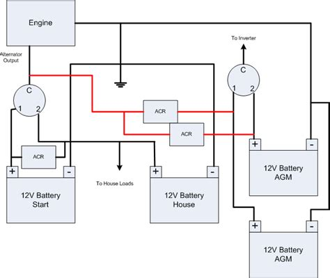 3 Battery Boat Wiring Diagram by 3 Battery Boat Wiring Diagram 29 Wiring Diagram Images