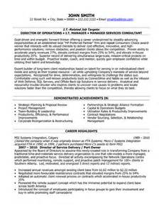 service delivery manager resume click here to this director of service delivery resume template http www