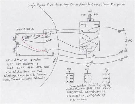 Wiring Diagram For Volt Single Phase Motor