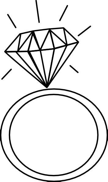 diamond ring clip art  clkercom vector clip art