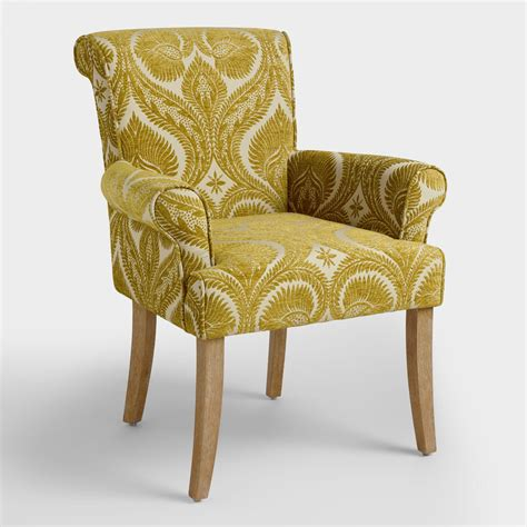 World Upholstery by Burma Nugget Londra Upholstered Chair World Market