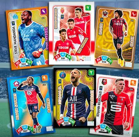 coleccion adrenalyn ligue    francia datos