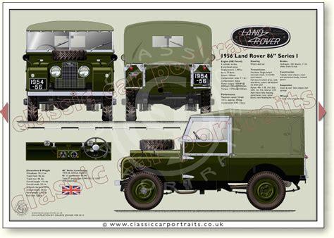 recirculating range land rover series one 86 quot 1954 56 car portrait