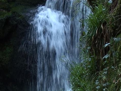 The Geroldsauer Waterfall, One Of The More Famous Large