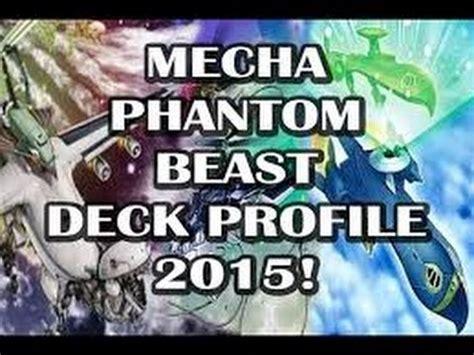 mecha phantom beast deck 2015 mecha phantom beast deck profile feb 2015