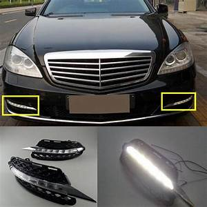 12v Car Drl Kit For Mercedes Benz S Class W221 S300 S500