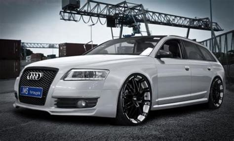 audi a6 4f tuning frontlippe racelook jms exclusiv line audi a6 4f ebay