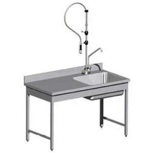 table cuisine inox pin table inox adossee 700x1000mm on