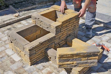 betonsteine selber machen blumentrog selber bauen das betonstein trio anleitung