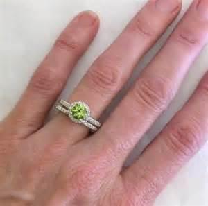 peridot wedding rings peridot engagement rings gr 3080