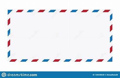 Envelope Mail Vector Air Letter Illustration Background