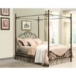 adison metal queen canopy bed walmart com