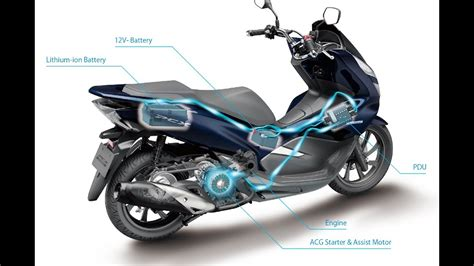 Pcx 2018 Thailand by 2018 New Honda Pcx Hybrid Thailand Technical Features