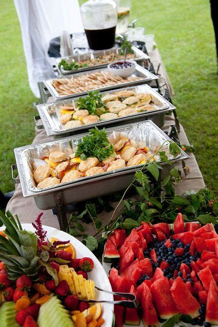 The Backyard Catering by 17 Best Images About Backyard Wedding Food Ideas On