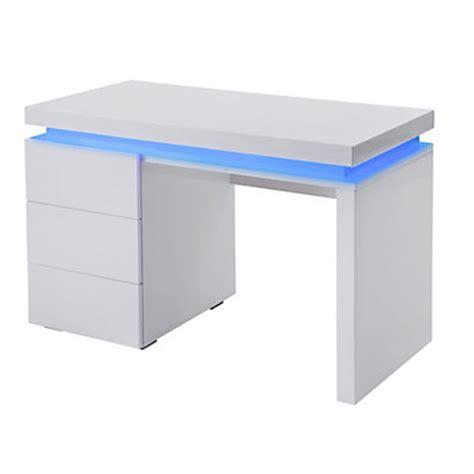 bureau ordinateur blanc laque meuble bureau et ordinateur pas cher but fr