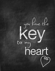 Key To My Heart : you have the key to my heart quotes quotesgram ~ Buech-reservation.com Haus und Dekorationen