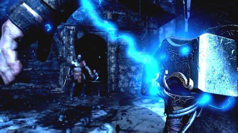 god of war ps4 secret ending thor boss fight preview
