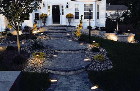 path lighting ideas 15 stylish landscape lighting ideas garden lovers club