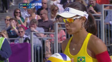 womens beach volleyball preliminary  bra  ger