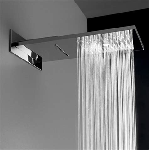 aqua sense electronic shower system delivers spa  experience