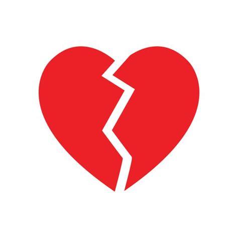 broken heart illustrations royalty  vector graphics