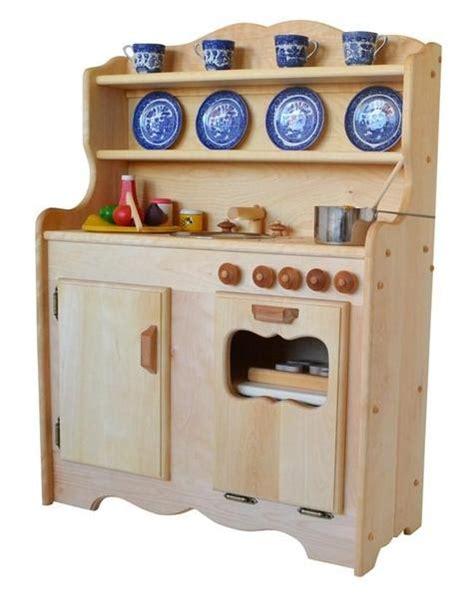 wooden play kitchen sylvie s kitchen in hardwood elves heirloom 1177