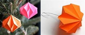 Boule En Papier : tuto origami boule de noel ~ Teatrodelosmanantiales.com Idées de Décoration