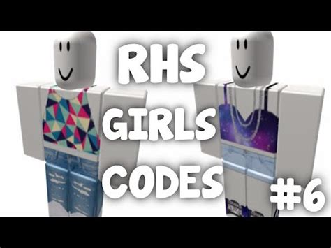 RHS code show | Roblox Outfits for Girls | #6 - Asurekazani