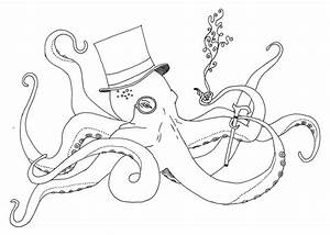 Octopus Outline | www.pixshark.com - Images Galleries With ...