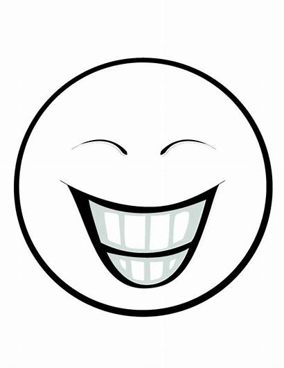 Smiley Faces Printable Clipart Face Pages Colouring