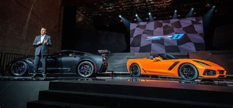 2019 Chevrolet Corvette Zr1 Convertible Makes Its Global Debut