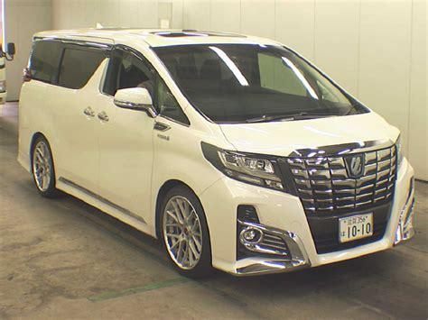 Toyota Alphard Picture by 2015 Toyota Alphard Hybrid And Vellfire Hybrid