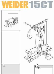 Weider Home Gym 15ct User Guide