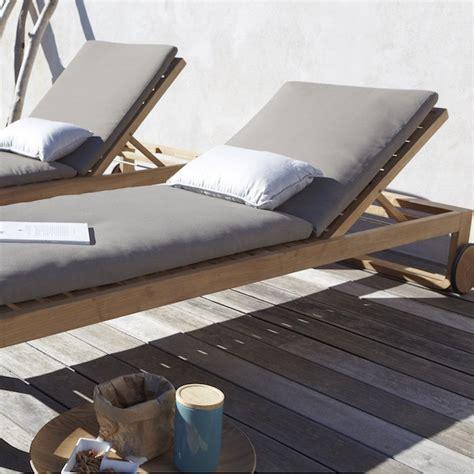 transat jardin  idees pour  bain de soleil ca vous