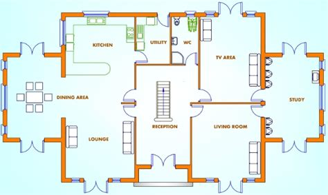 modern 4 bedroom house plans uk 5 bed house plans uk pdf woodworking 927   gf%20plan