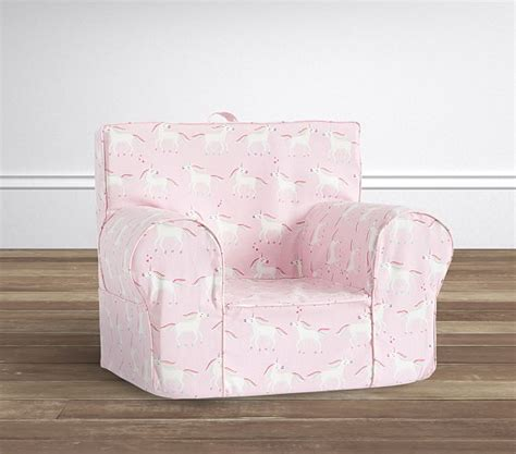 Pottery Barn Anywhere Chair Slipcover by Unicorn Pink Anywhere Chair 174 Slipcover Only Pottery