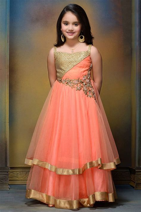 clothes for new years party traditional style trendy kids lehenga choli dresses for