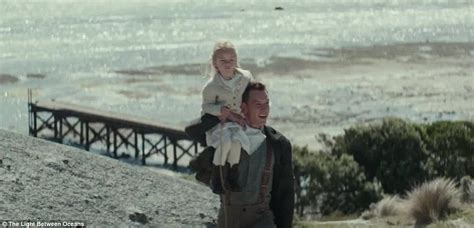 michael fassbender and vikander appear in the light between oceans s first trailer