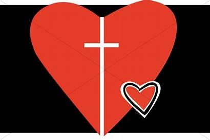 Heart Clipart Christian Fancy Jesus Box Clipartpanda