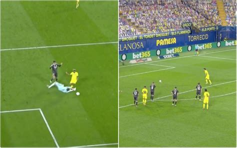 Video: Villarreal level after Madrid's Courtois concedes ...