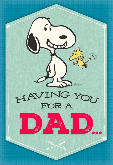 peanuts happy dance musical fathers day card greeting