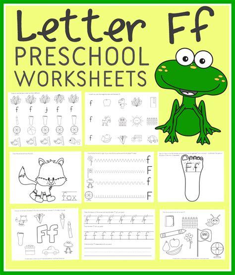 letter  preschool worksheets instant