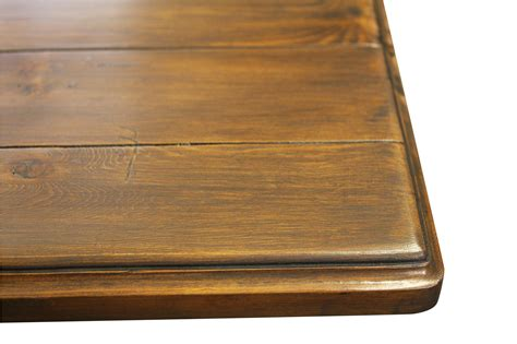 reclaimed wood pedestal dining room table mortise tenon