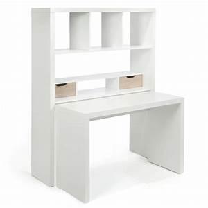 Bureau Avec étagère : twisty bureau bureau modulable blanc avec tag res et tiroirs bureau modulable alin a et ~ Preciouscoupons.com Idées de Décoration