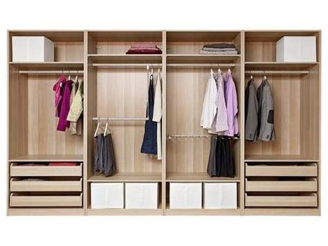 keep your bedroom closet neat using ikea closet organizer