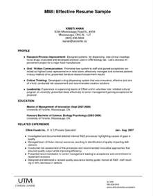 sle of effective resume writing literature review exles on education