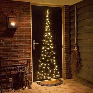 Weihnachtsbeleuchtung Für Draußen : fairybell weihnachtsbaum h210cm 60 led warmweiss f r t ren fenster und w nde ~ Frokenaadalensverden.com Haus und Dekorationen