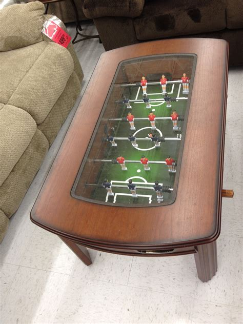 Questionboard game table features (self.boardgames). Foosball coffee table   Board game room, Coffee table, Game room